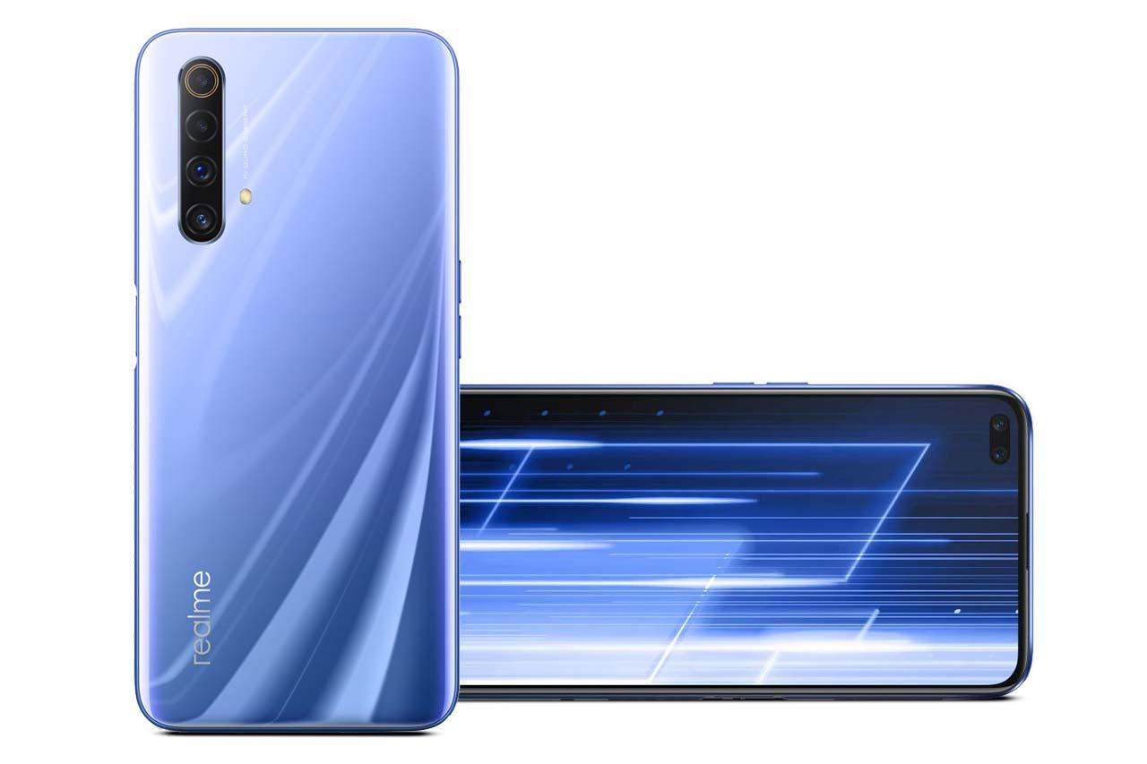 Realme X50 5G Ice Silver Blue