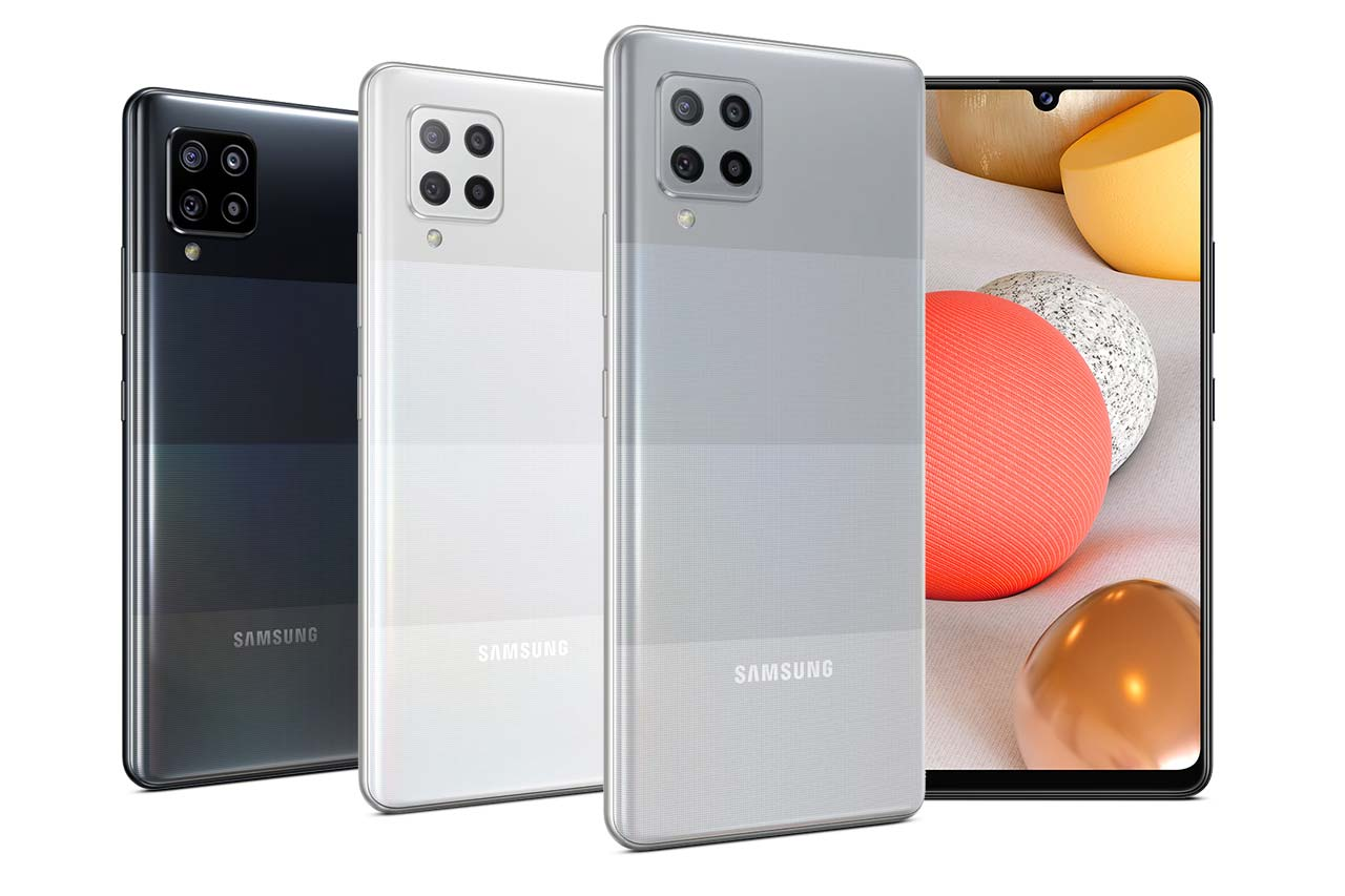 Samsung Galaxy A42 5G Colors