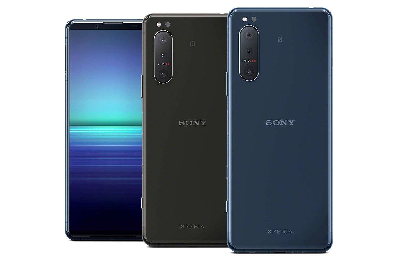 Sony Xperia 5 II Blue Black
