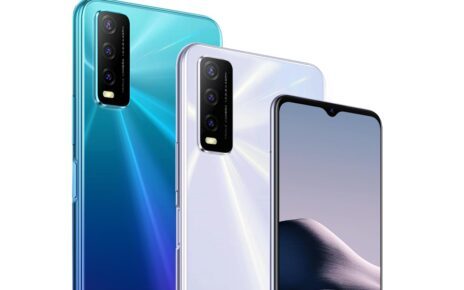 Vivo Y20i Blue White Colors