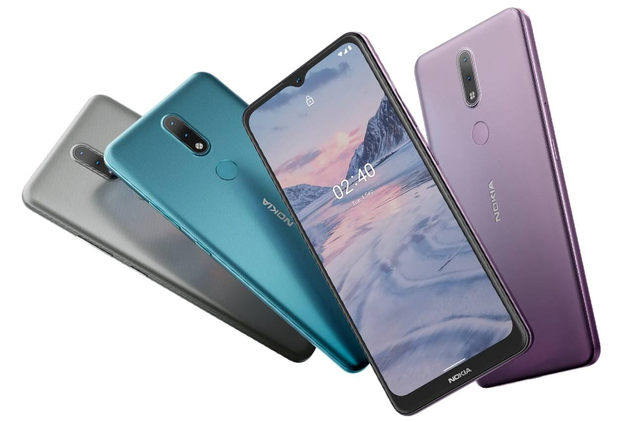 Nokia 2.4 All Colors