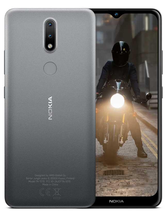 Nokia 2.4 Charcoal Gray