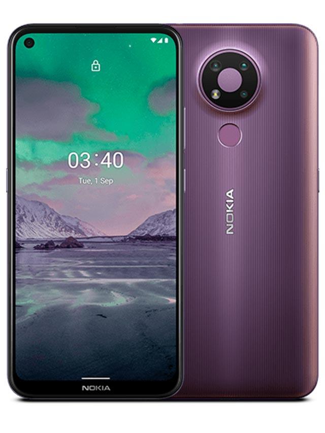Nokia 3.4 Dusk Purple Color