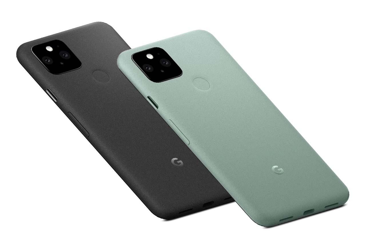 Google Pixel 5 Colors