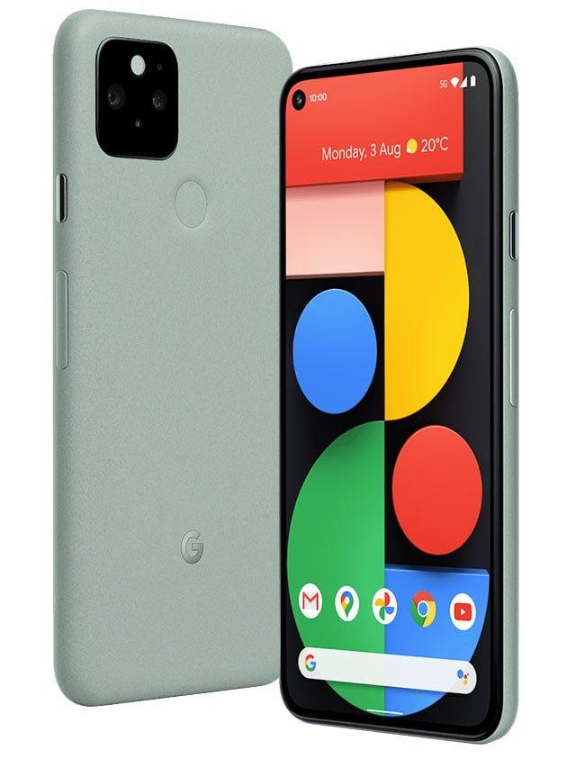 Google Pixel 5 Sorta Sage Color