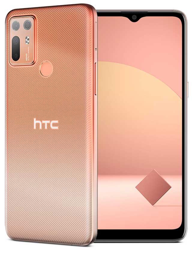 HTC Desire 20 Plus Orange Color