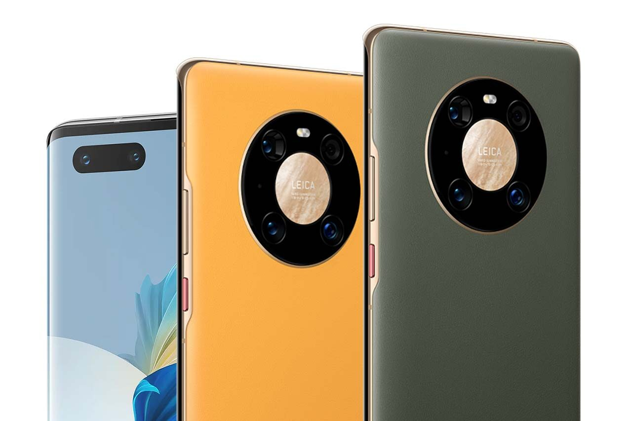 Huawei Mate 40 Pro Yellow Gold Green