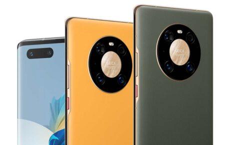 Huawei Mate 40 Pro Yellow Gold Green
