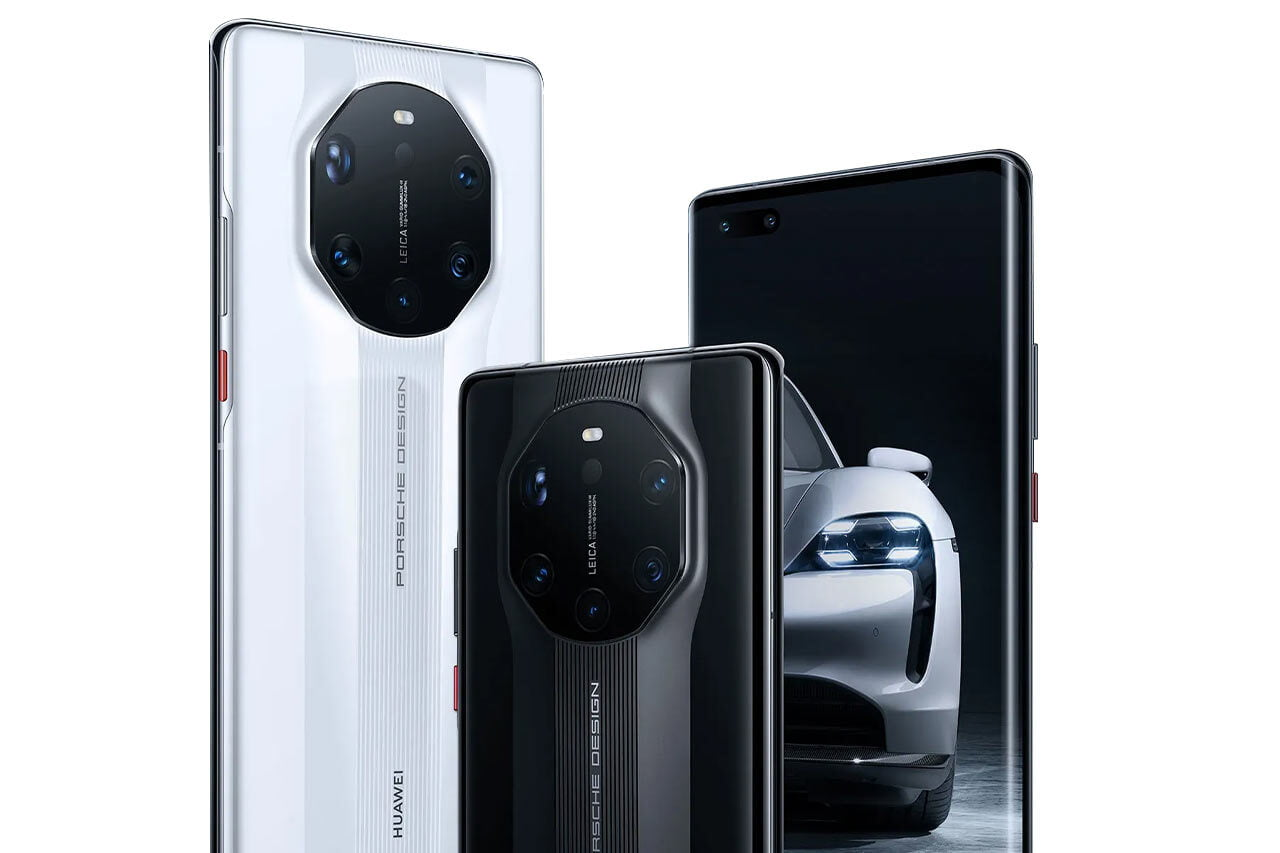 Huawei Mate 40 RS Porsche Design White