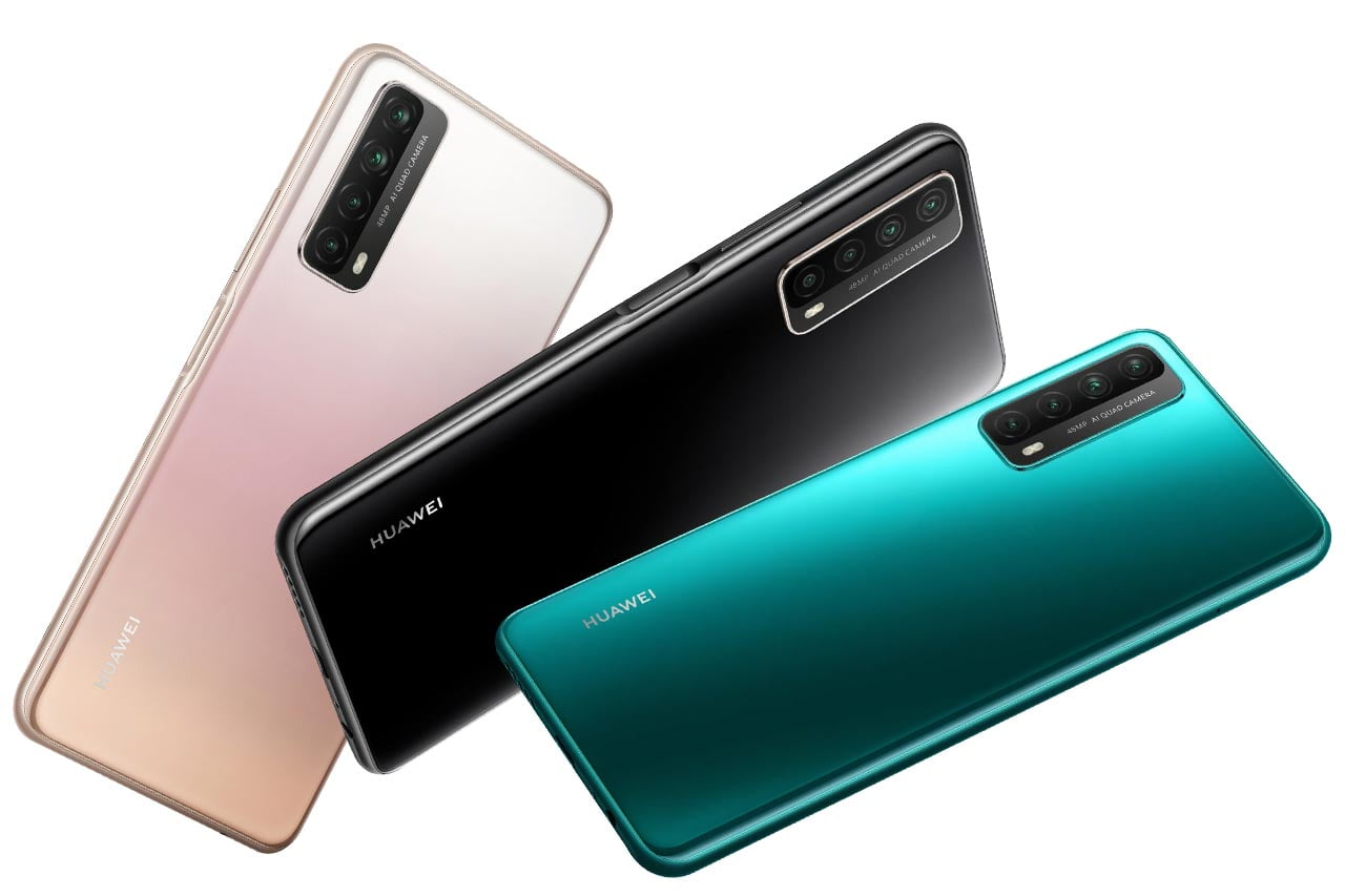 Huawei Y7a Colors