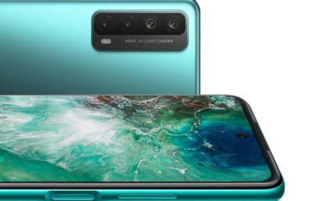 Huawei Y7a Green