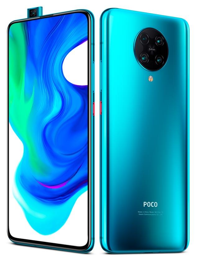 Mi Poco F2 Pro Neon Blue