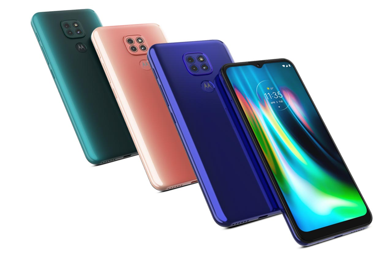 Motorola Moto G9 Play Colors