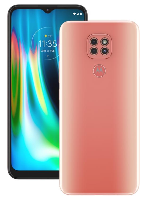 Motorola Moto G9 Play Pink
