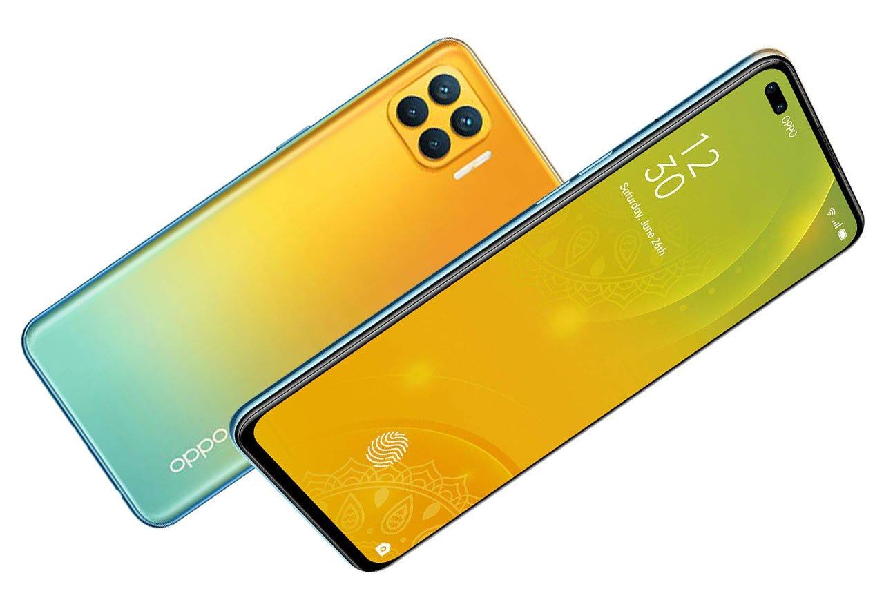 Oppo F17 Pro Matte Gold Color