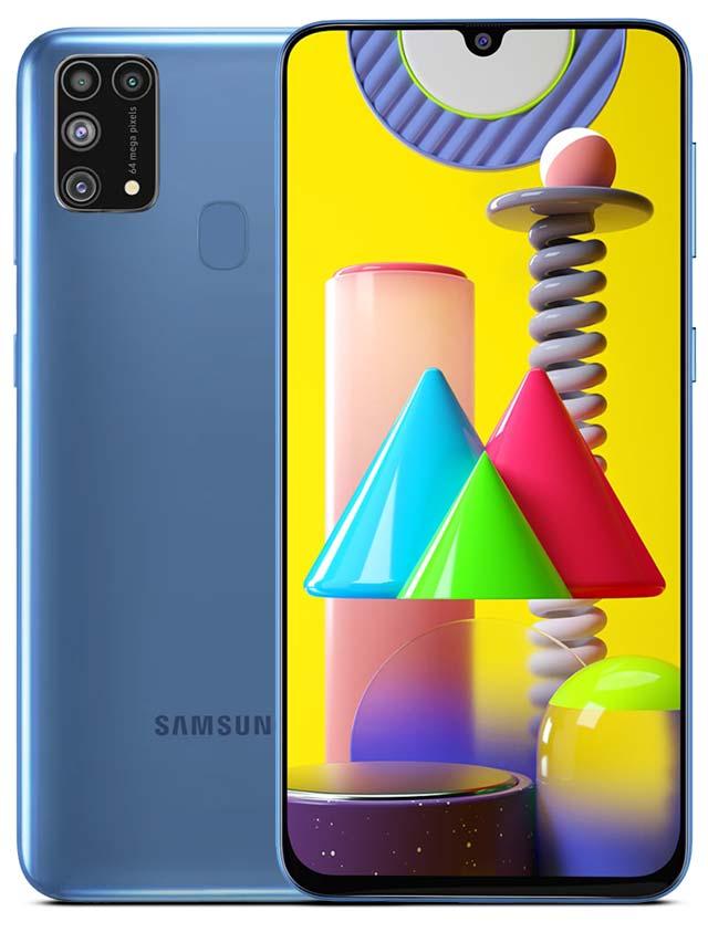 Samsung Galaxy M31 Prime Iceberg blue