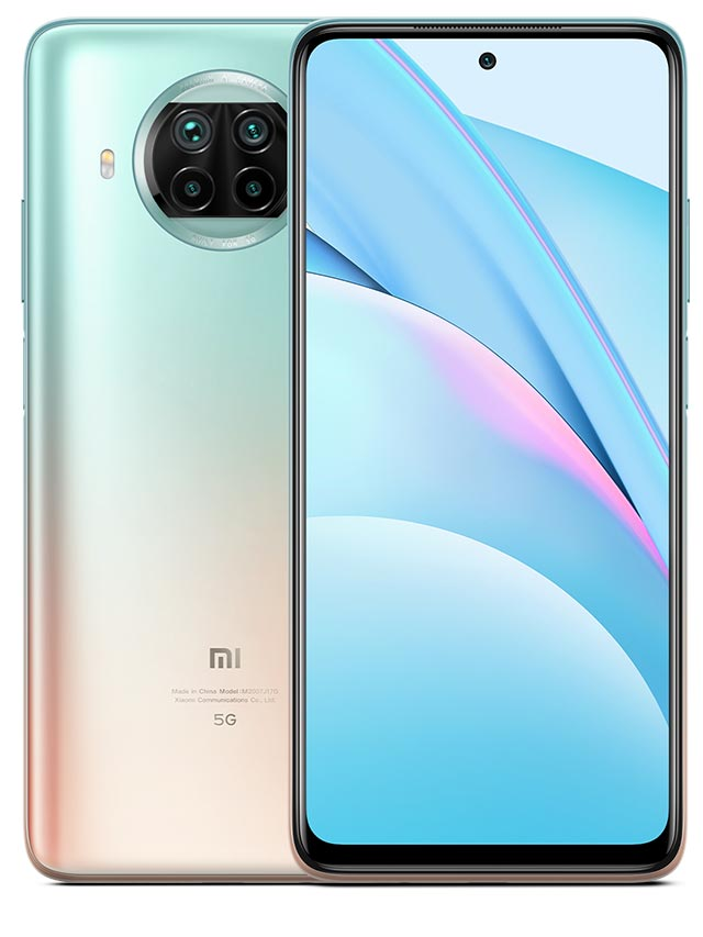 Xiaomi Mi 10T Lite 5G Rose Gold white