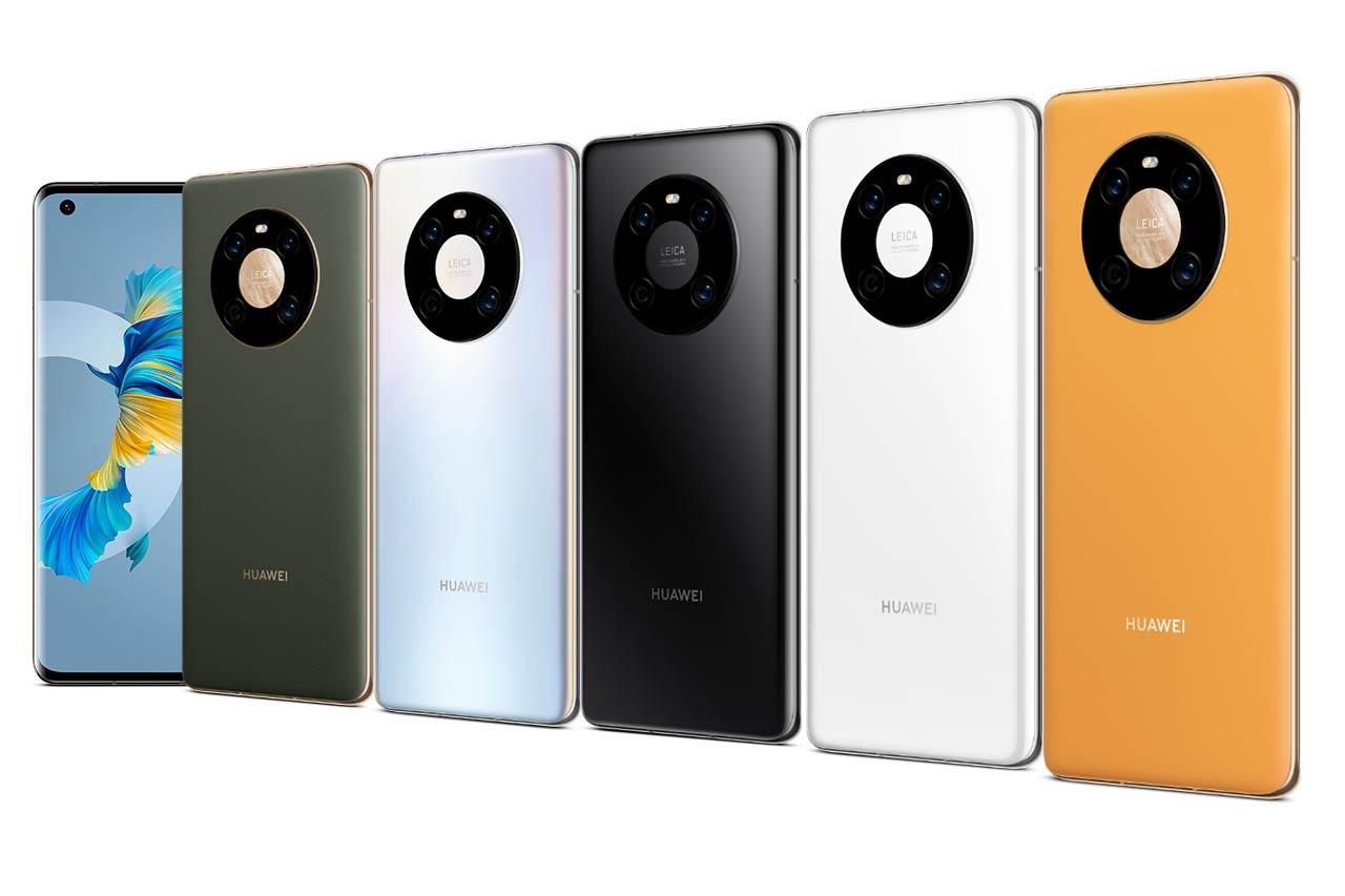 Huawei Mate 40 Colors