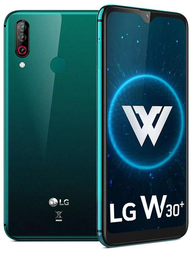 LG W30 Plus Green