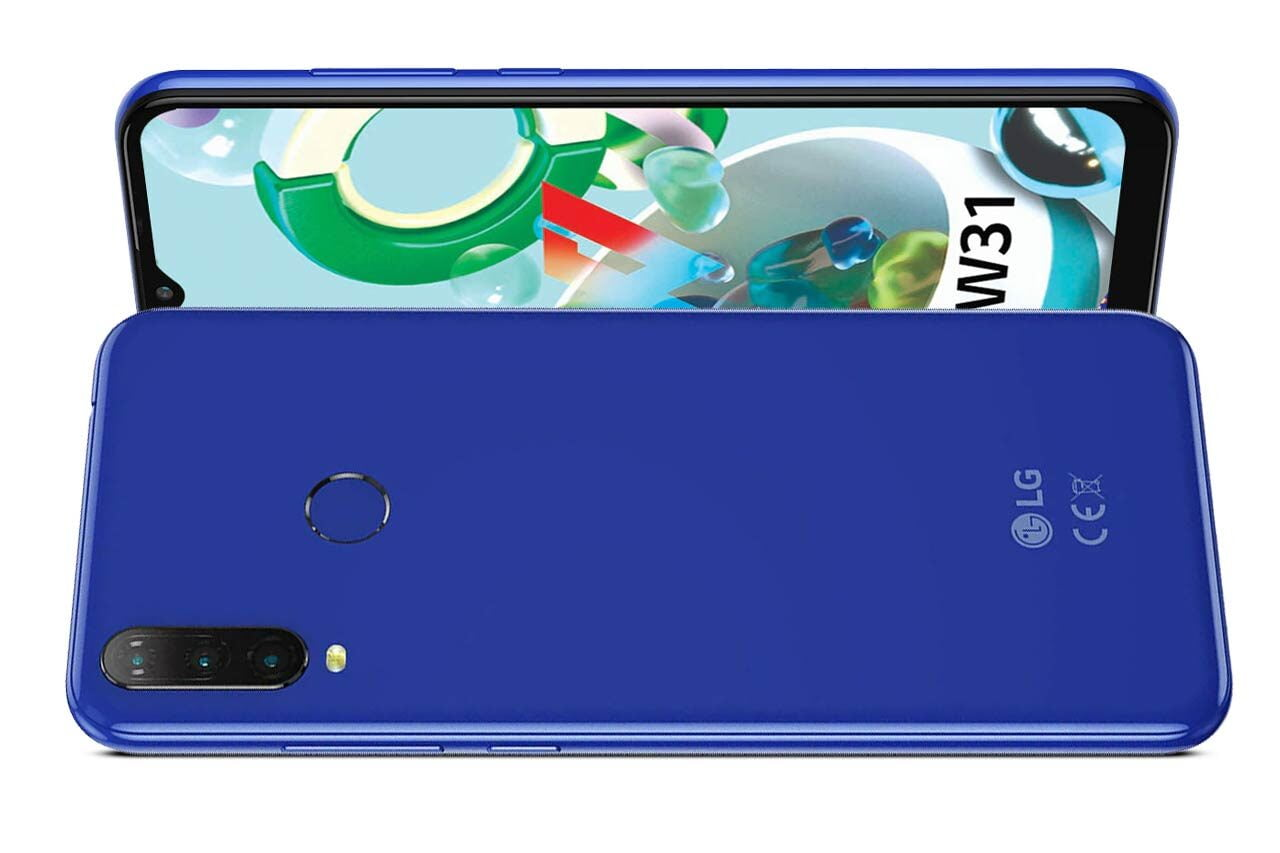 LG W31 Blue Colour