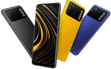Mi Poco M3 Colors