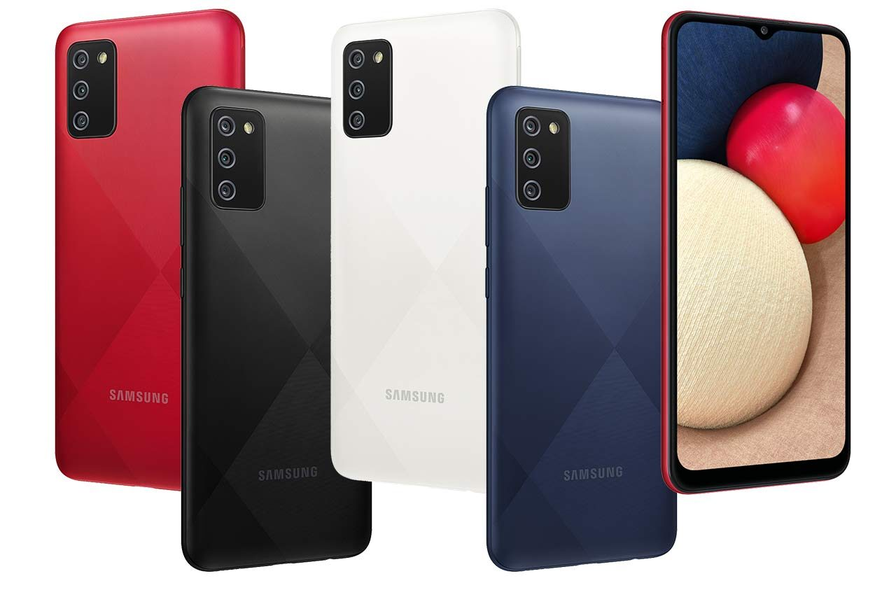 Samsung Galaxy A02s Colors