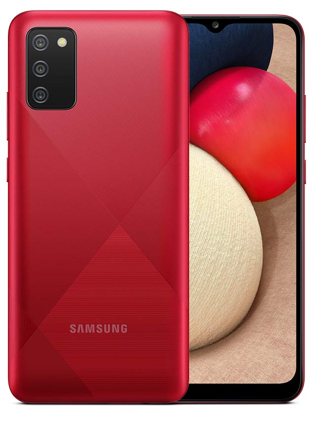 Samsung Galaxy A02s Red Color