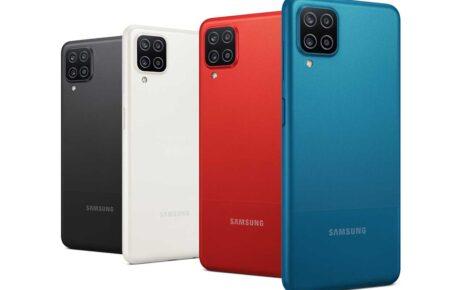 Samsung Galaxy A12 Colors