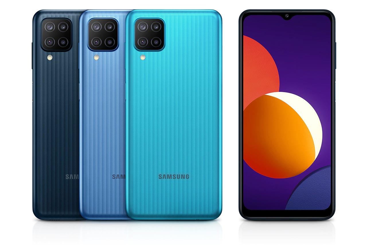 Samsung Galaxy M12 Colors