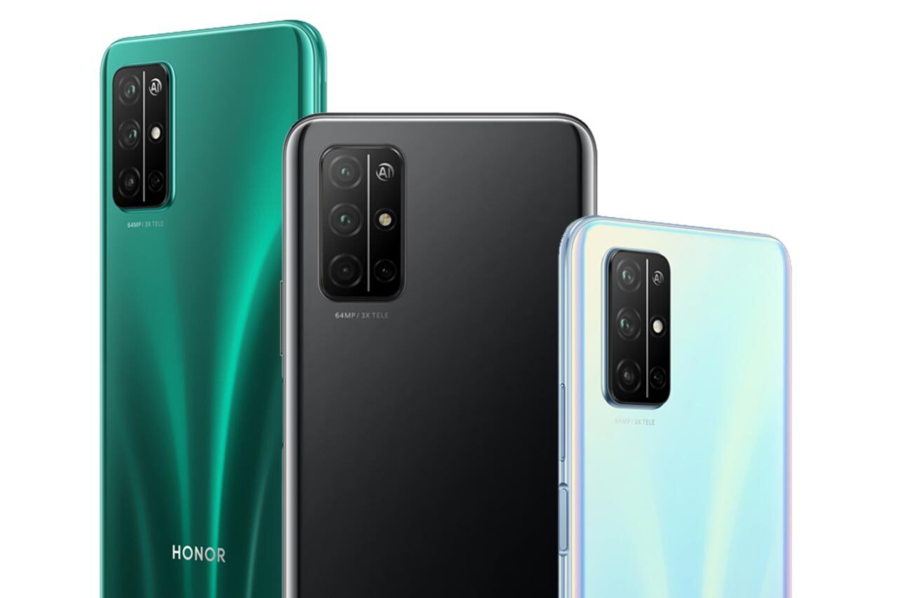 Honor 30S colors