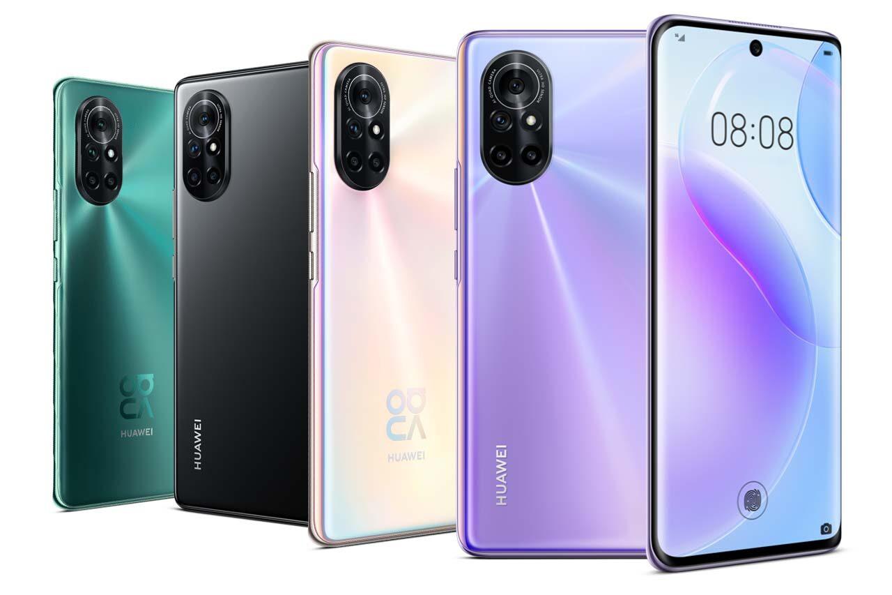 Huawei nova 8 Colors