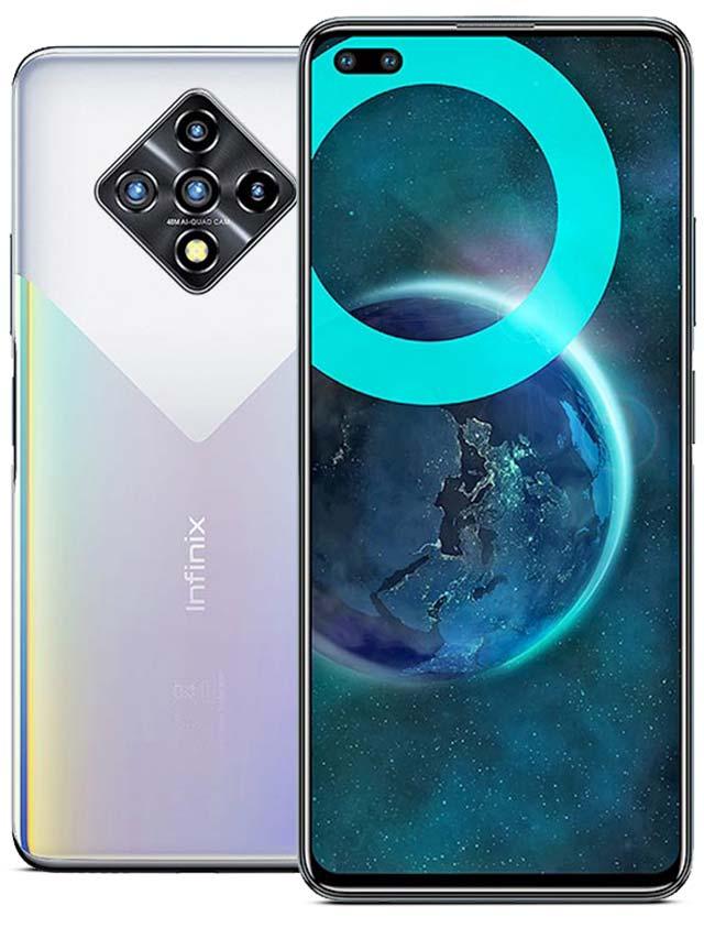Infinix Zero 8i Silver