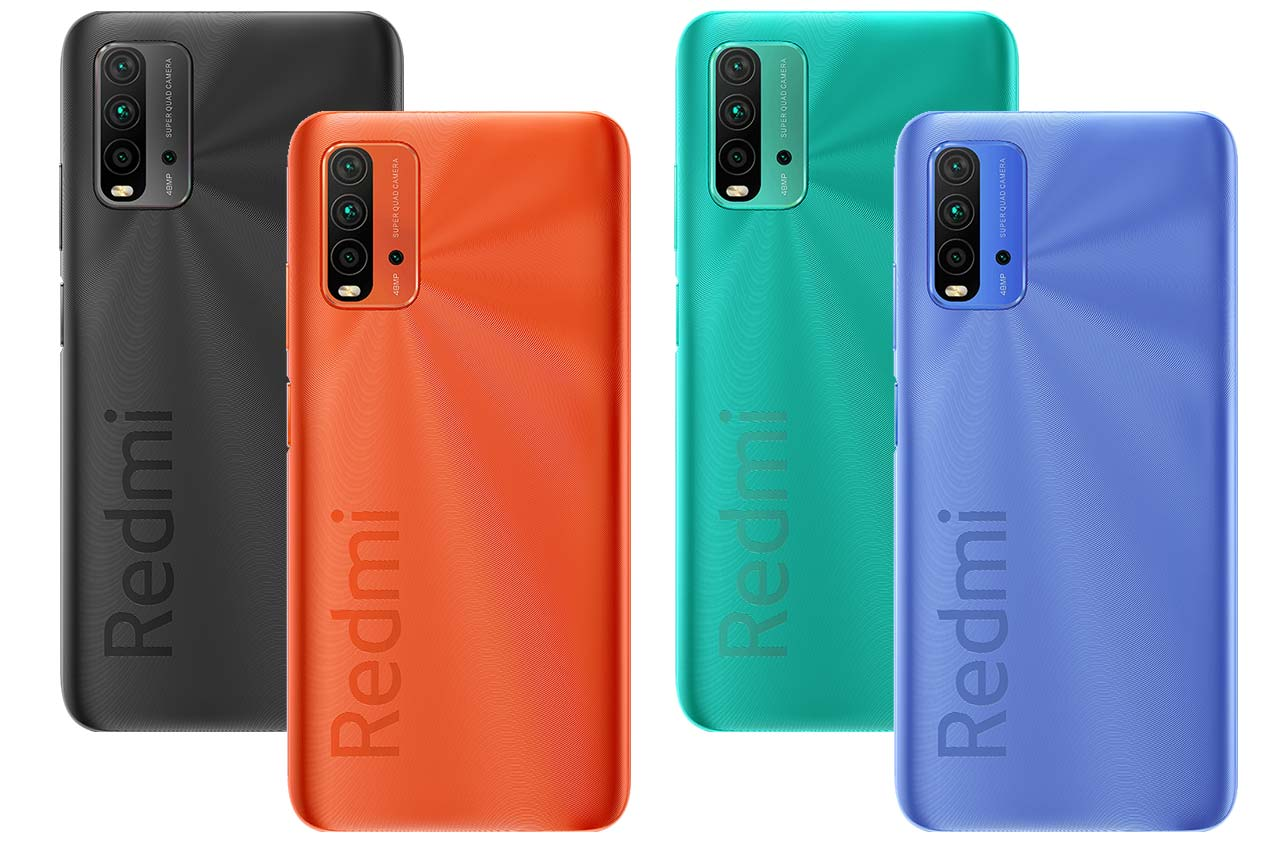Mi Redmi 9 Power Colors