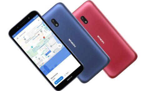 Nokia C1 Plus Colors