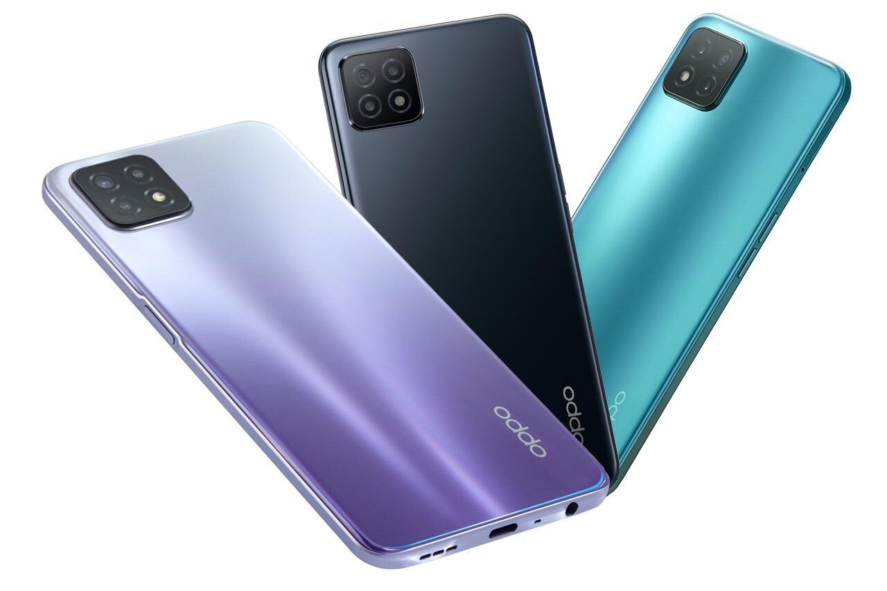 Oppo A53 5G Colors
