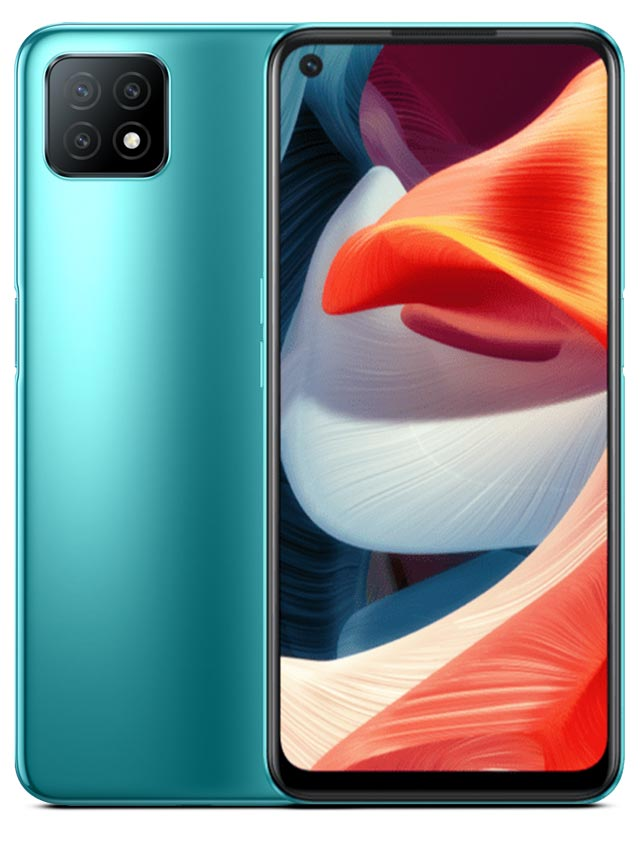 Oppo A53 5G Green Color