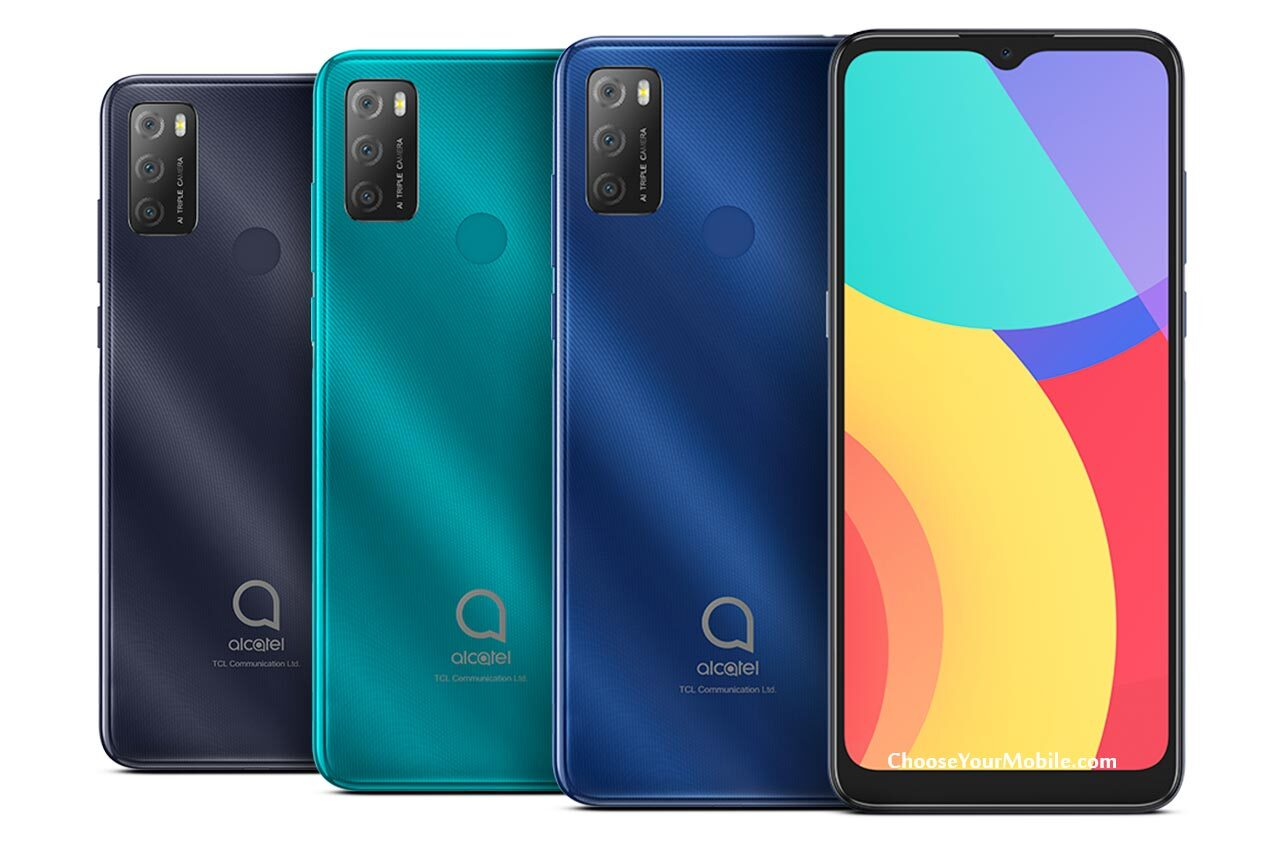 Alcatel 1S 2021 Colors