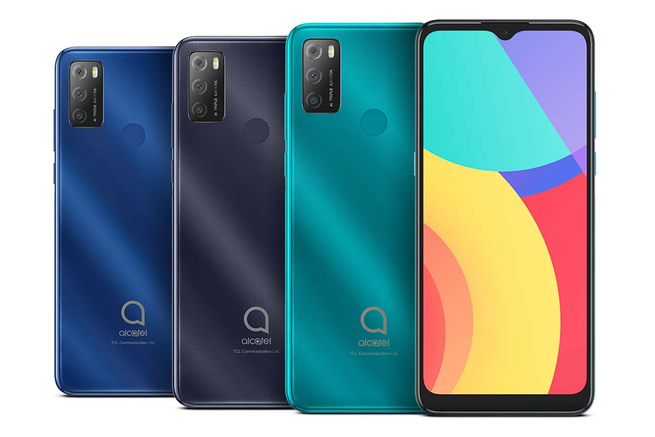Alcatel 3L 2021 Colors