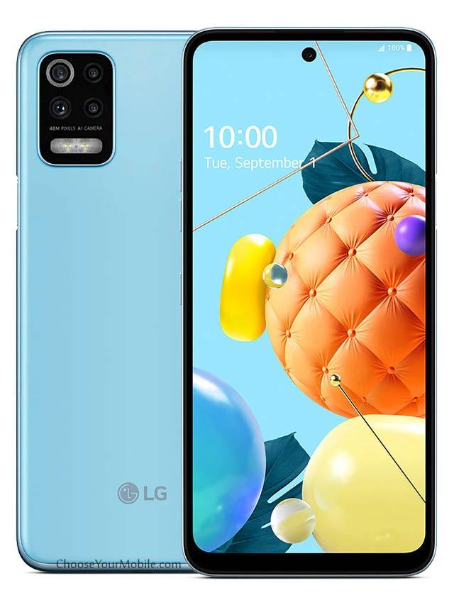 LG K62 Sky Blue