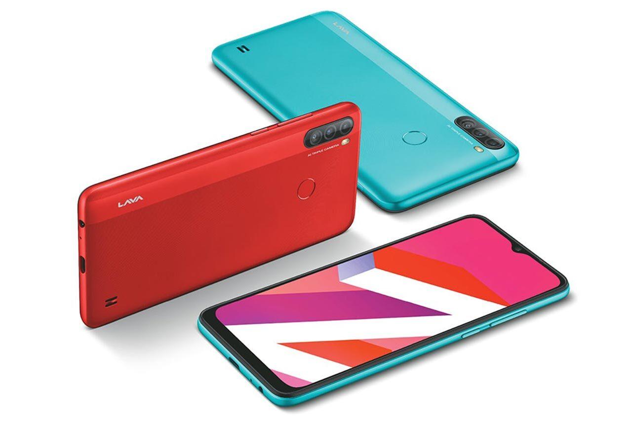 Lava Z6 Colors