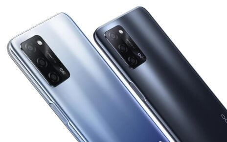 Oppo A55 5G Colors