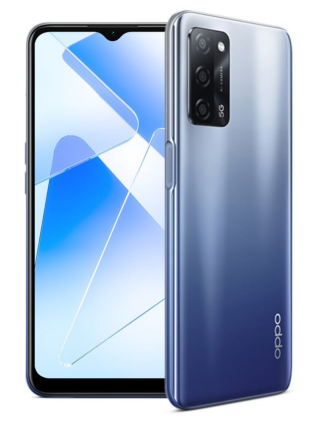 Oppo A55 5G Blue Color