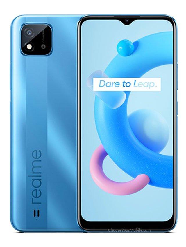 Realme C20 Blue