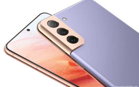 Samsung Galaxy S21 5G Violet Color