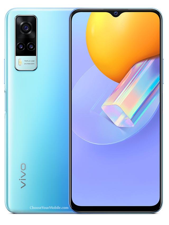 Vivo Y31 Blue