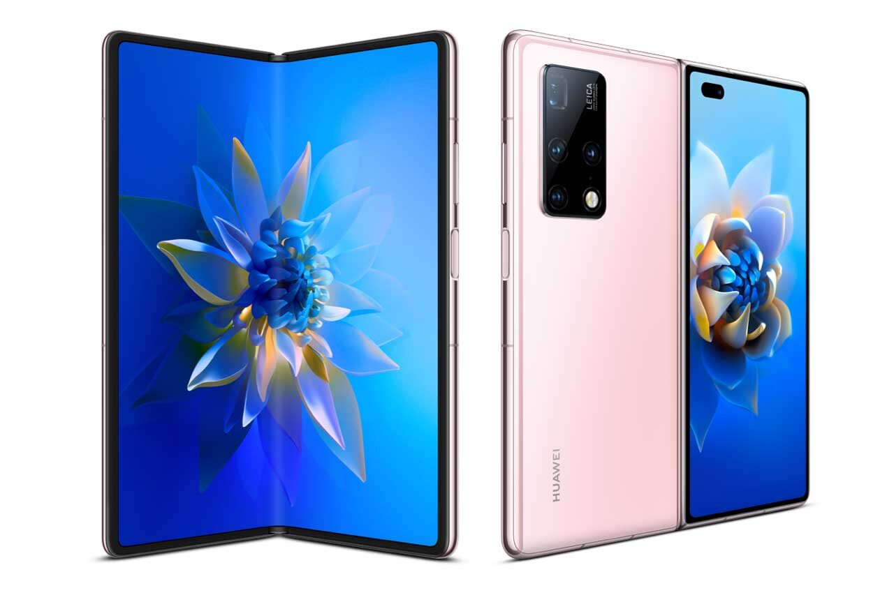 Huawei Mate X2 Pink Color