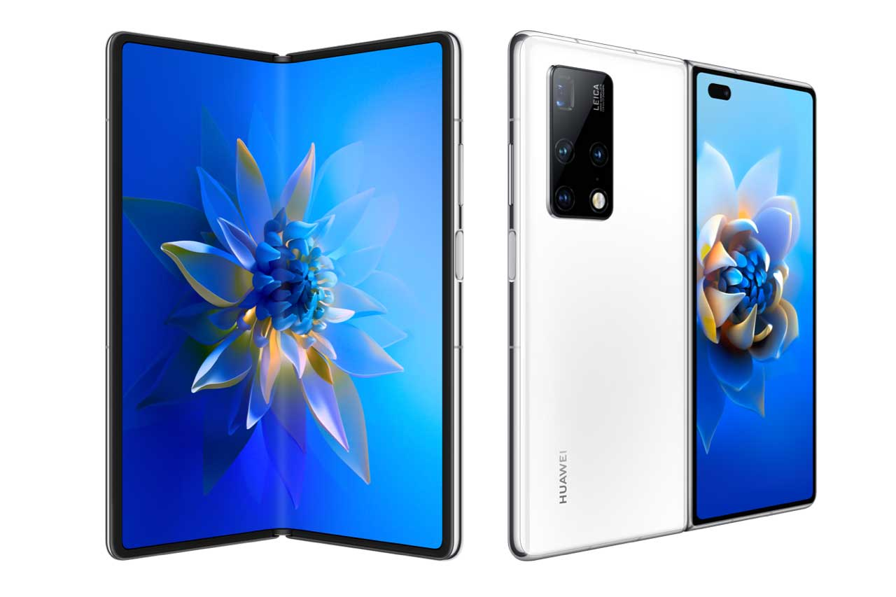 Huawei Mate X2 White Color