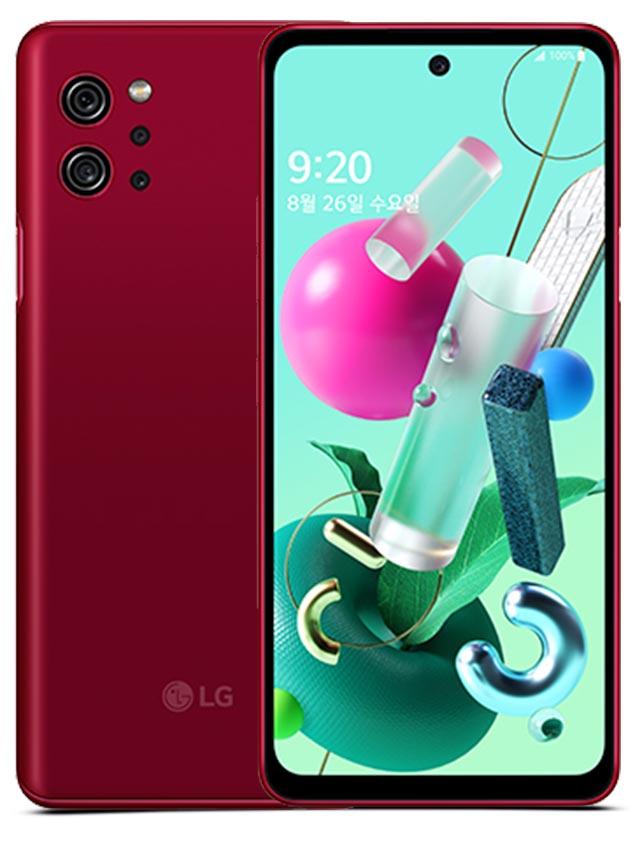 LG Q92 5G Red