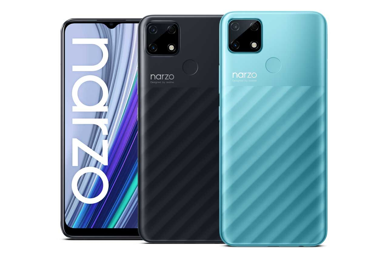 Realme Narzo 30A Colors