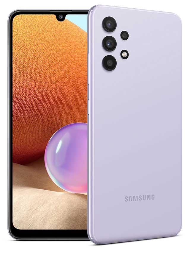 samsung galaxy a32 4g violet